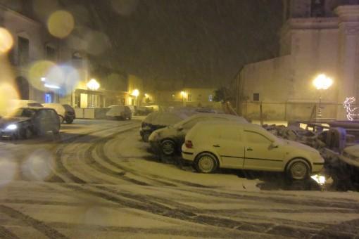 piazza vescovado neve