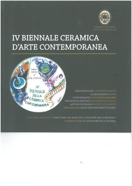 Logo IV^ Biennale Ceramica d'Arte Contemporanea-Cerreto Sannita