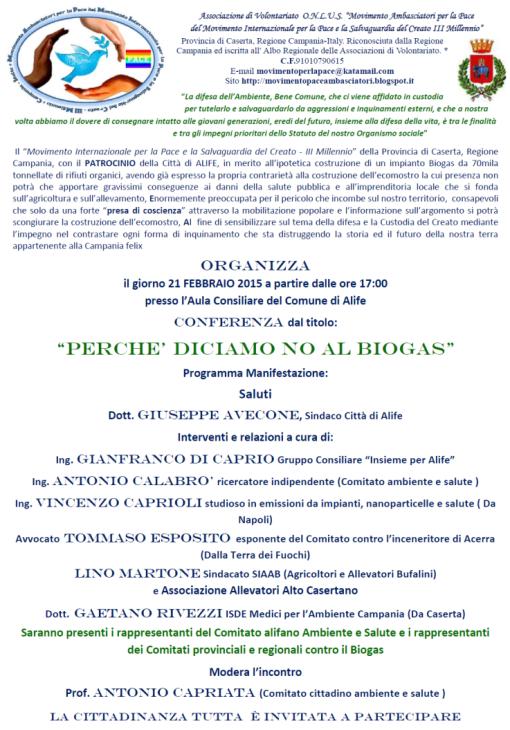 manifesto no biogas alife ok