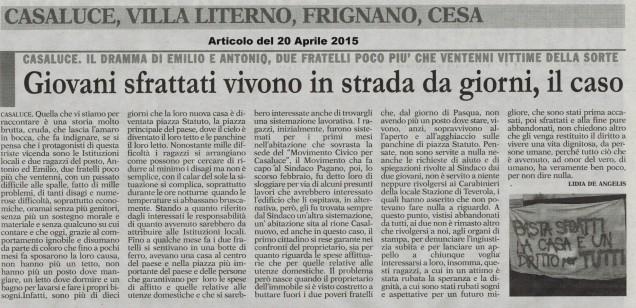 Una vergogna italiana. (1)
