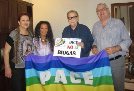 nogaro e gruppo movimento pace no al biogas alife