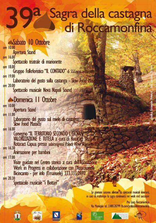 sagra castagna roccamonfina