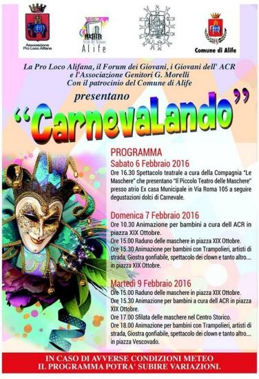 alife carnevale 2016