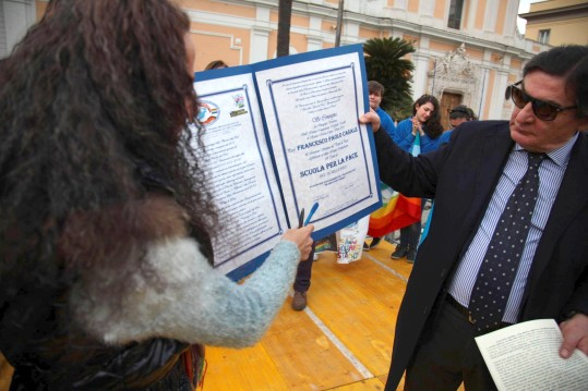 firma protocollo di Pace