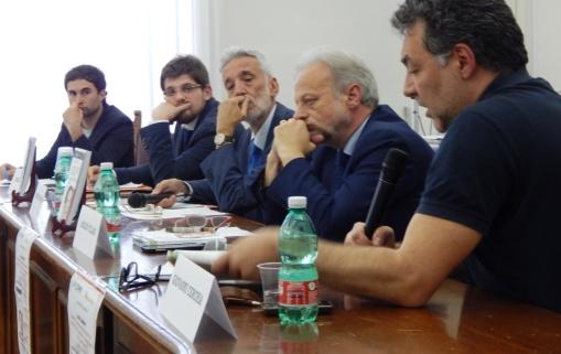CAPUA Da sx Oggionni, Carbone, Marino, Villani e Cerchia - 300416